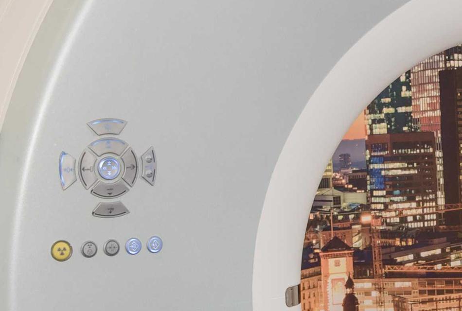 20-Zeilen CT mit großer Gantry - Strahlentherapie Frankfurt